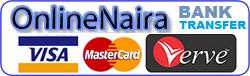 OnlineNaira MasterCard ,Verve , Visa in Naira